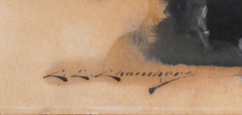 C E Chambers Signature